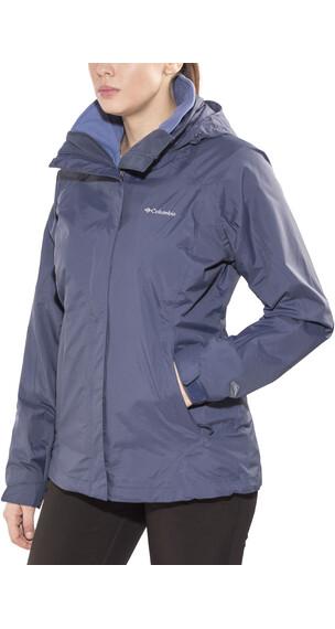 Columbia Venture On Interchange Jacket Women Nocturnal/Bluebell